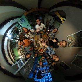 Prieteni în Sinaia.