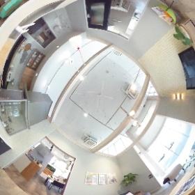 生まれ変わった『すまい・まもり リフォーム館』です。 リアル生活空間を展示しております。