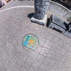 箕面駅前東海自然歩道西の起点 #SingleDNG #thetaz1 #theta360