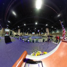 In just a few minutes MCHS Graduates will walk across this stage! Watch live: http://www.mchsdigitalmedia.com/graduation.html @WCPSS #2016 #theta360