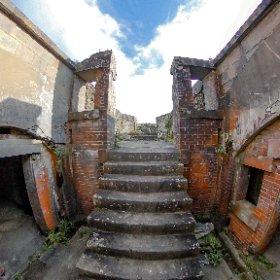 Fortress Ruins in Mt.Hakodate #theta360