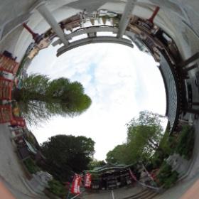 川越八幡宮  photo : 360度カメラ研究会(http://camera-360do.com/) by ほーりー