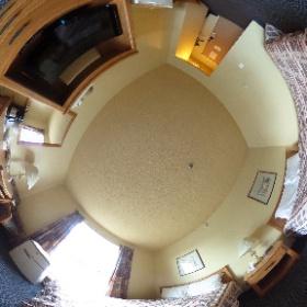イエローナイフのホテル。ディスカバリーイン #theta360