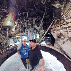 Check out this 360 view from inside the wheel well of a Boeing 737 at United's SFO maintenance base. There's a lot of room in here — until that giant wheel swings up into this space just after takeoff!