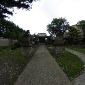 西六郷白山神社。 #theta360