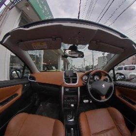 #プジョー207CC#4人乗りオープンカー専門店バランス#opencar.jp