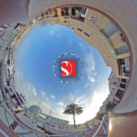 2016 Abu Dhabi Grand Prix - Yas Marina Circuit Paddock, Harbour Behind The Team Buildings - Sauber F1 Team