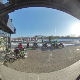 2021 IWATE モーターサイクルフェスタ主催ディーラー カワサキプラザ盛岡店内紹介360°写真01 #theta360