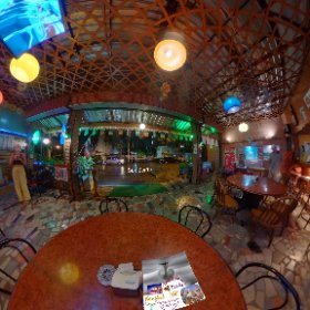 Beer Garden Suk Soi 19 open air diner, menu is European breakfast lunch dinner, SM hub http://goo.gl/kZT0GP   BEST HASHTAGS #BeerGardenSoi19  #BkkEuroFood   #BkkSukSoi19   #BtsAsoke   #butterfly3d #theta360
