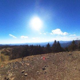 雲取山 #theta360