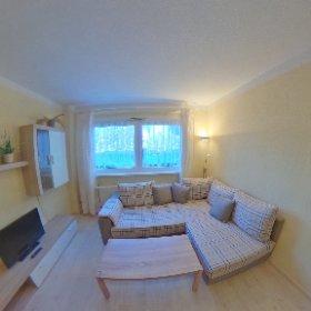Ferienwohnungen im Haus am Rügendamm, hier: Wohnzimmer #theta360