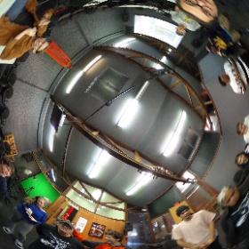 Cool photo from our 360 workshop this morning at the East Bay Media Center! Thanks again for having me teach #theta360