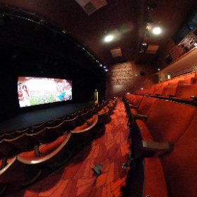 STEPHEN JOSEPH THEATRE: Cinema and lecture theatre for the Exploring Digital Futures conference on Fri and Sat May 26 and 27, 2017. #theta360 #theta360uk