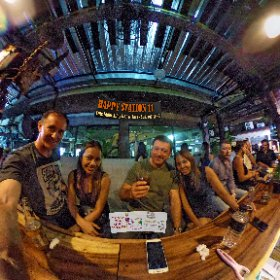 Happy Station 11 alley bar and Eats in Suk Soi 11/2 Bangkok, late night bar, SM hub https://goo.gl/DQ3E39 BEST HASHTAGS #HappyStation11Bkk   #Firefly3d