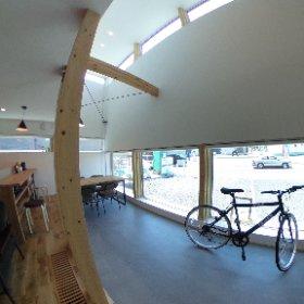 "STV興発の新モデルハウス『ヌポロ』が『グリーンタウン野幌若葉町(北海道江別市)』にオープン!コンセプトは""土間のある暮らし""---使い方は自由です。 #theta360"