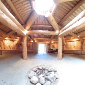 Xaytem pit house. Was taking drone footage and 360 shots today. #theta360