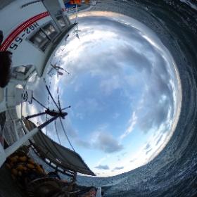 いかなご漁-網入れの様子2 #大阪湾 #幸内水産 #いかなご