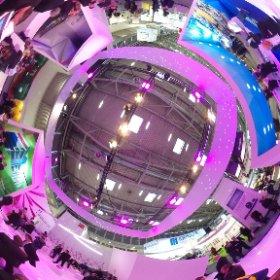 Siniat Messestand im 360 Grad Blick