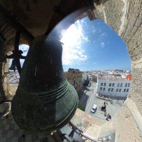 Vistas desde el campanario del Arquillo del Reloj #Chiclana http://www.dechiclana.com/item/arquillo-del-reloj/ #Chiclana #Cadiz #theta360