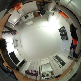 "The home of ""Rob is Turning 45 in Paris""  #theta360"