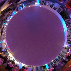 Hampton Court Palace wedding #theta360