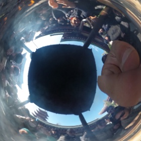 浅草の写真2 リコー シータの360度グルグル写真 #theta360