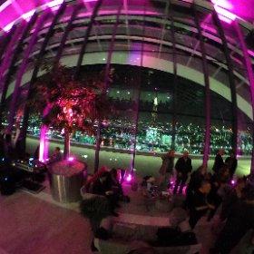 Sky Pod Bar. London England. #theta360