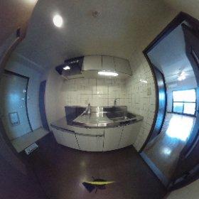 COZYオオタ301 キッチン #theta360