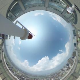 梅田スカイビル・空中庭園1 #theta360