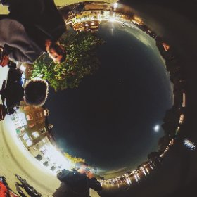 Shooting A7Sii with Duchess. Richmond Riverside. ThetaS 4 second exposure 360 image