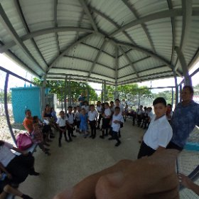 360 of the school kids!  #theta360