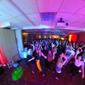Our first 80's night in Horsham yesterday #the80snight #horsham #holbrookclub #theta360