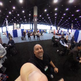 Just getting started with Video is Making it a SMALL world. Come learn more about how to use video with your students #tesol18 #theta360