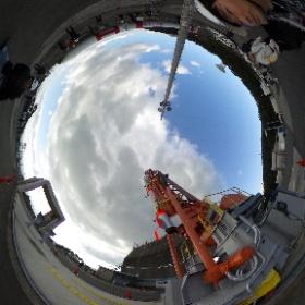 SS-520 ロケット 4号機 今回は新型のランチャーで打上げを予定しています。 #nvslive #SS520 #theta360