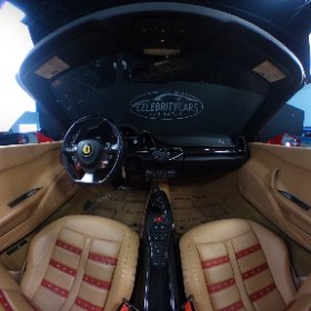 2013 Ferrari 458 interior 360 degree view