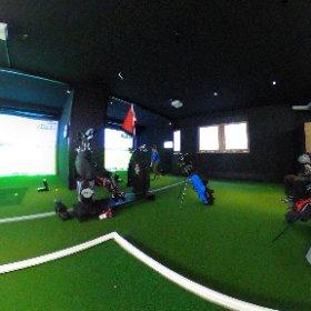 indoorgolf waldhaus, flims #bunavista #golf #theta360 #theta360de