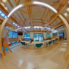 多目的ホール@飛雪の滝キャンプ場 #theta360