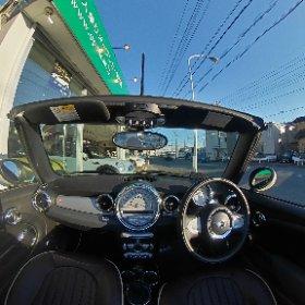 #ミニクーパーコンバーチブル ペッパーホワイト 27U22 #opencar.jp