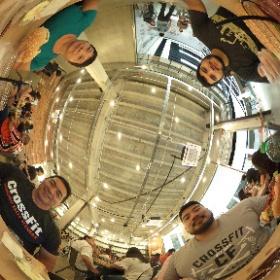 Porpino Burger, shopping Metrópole  #theta360