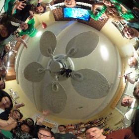 Friday night jams XIV - rockin' the #stpatricksday theme in 360 #jpixx #theta360