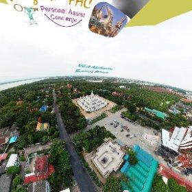 Wat Asokaram is home to stunning white temple and buddhist retreat on the gulf of Thailand in Samut Prahkan about 30 kms south of Bangkok, SM https://goo.gl/kPyFw6  BEST HASHTAGS #WatAsokaram  #BkkTemple   #ZoneSamutPrukan  #Firefly3d