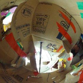 20150919セシオン杉並にてワークショップ ダンボールの家を つくって つなげて あそんで こわれたら なおしながら またあそぼう 物件内覧 日当り良好