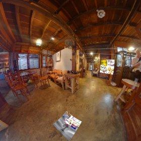 360 spherical  Samsara Cafe Bar is a chill shack on the river, pano parade of passing water action, SM hub https://goo.gl/fgLDUA BEST HASHTAGS #SamSaraCafeBar  Industry #BkkFoodDrink    #BkkZoneTaladNoi #Butterfly3d #theta360