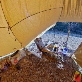 新しいテントを買ったよ Soomloom HAPI4P #theta360