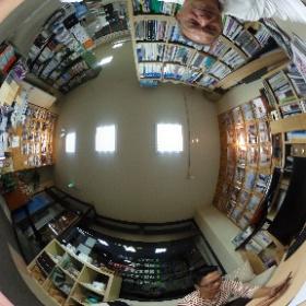 スゴ〰クおもしろそう!360度カメラの画像。動かせる筈?動くかな?