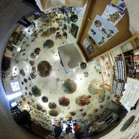 Termesphere,  Spearfish SD, is a one-of-a-kind artist shop specializing in global projections.  Copyright by Dr Roisum, POVphotosplus.com, 2017. #theta360