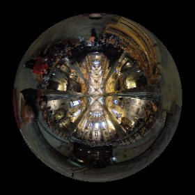 Church in Barcelona. #theta360