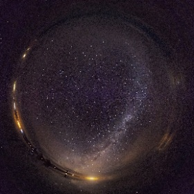Звезды в 360° завораживают!  Автор: Yasushi Tanikado #thetaz1 #theta360 #ricohtheta360 #ricohthetaz1 #stars