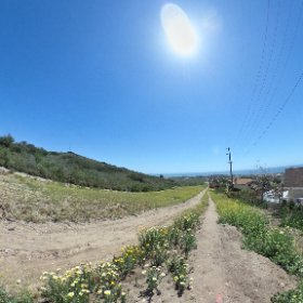 Fire Road  #theta360