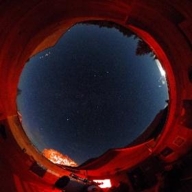 Pavillon d'astronomie Velan, Domaine St-Bernard, Tremblant 29 septembre 2018 La planète Mars est en vedette.